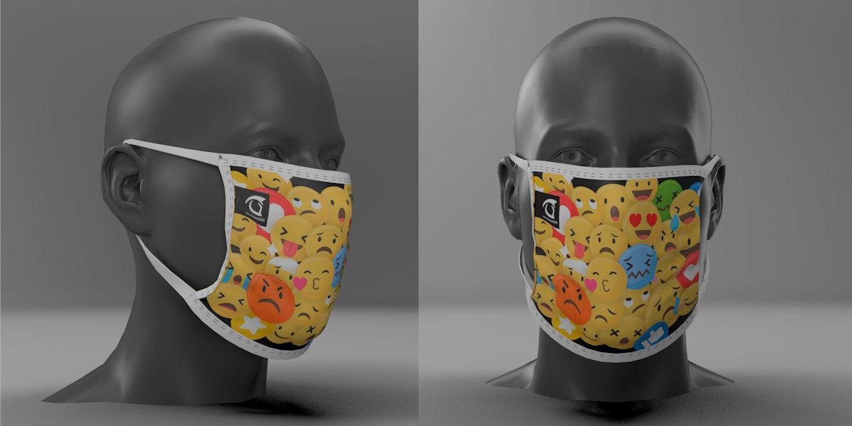 Mascherine filtranti personalizzate riutilizzabili
