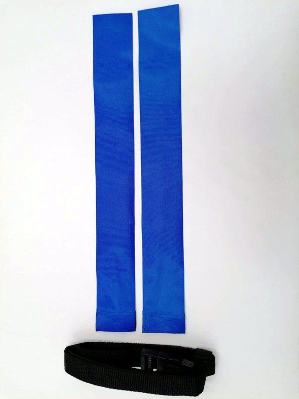 cintura per il rugby blue
