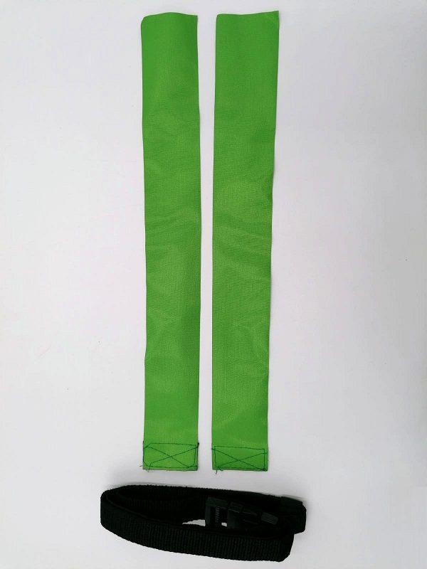 cintura per il rugby verde